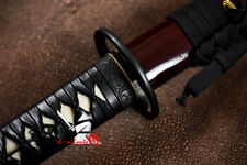 NEW SALE CLAY TEMPERED T-10 STEEL BLADE JAPANESE KATANA CYCLONE KASHIRAE SWORD