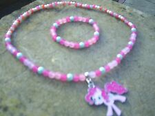 Mon Petit Poney Pinkie Pie Collier et Bracelet Set. Top Ten Best Seller