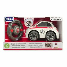 NEW CHICCO FIAT 500 RADIO CONTROL CAR STEERING WHEEL TOY REMOTE ACTIVITY TOY