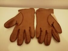 dents winchester leather brown Crochet gloves