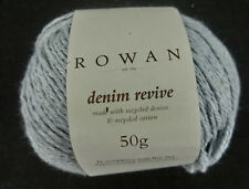 (11 €/100g): 50 g  Rowan DENIM REVIVE, Sh 00211 bluewash Lot 282904 # 3721
