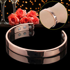 Copper Bracelet Magnetic Healing Bio Therapy Pain Relief Health Bangle Cuff