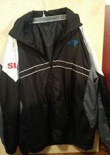 Sports Illustrated Carolina Panthers XL Full Zip Lightweight  Windbreaker Jacket