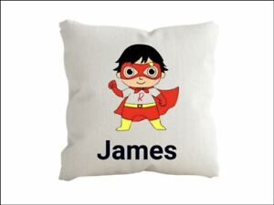 Ryans World  Personalised  cushion pillow with any name Cover only