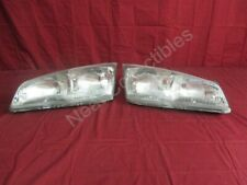 NOS OEM Pontiac Grand Am Head lamp Light lens 1992 - 95 PAIR