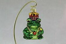 Frog Prince Old World Christmas Christmas Ornament 1980's