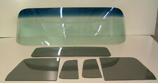 Glass 1954 Chevy GMC Pickup Tint Shade Windshield Grey Vent Door Rear Back