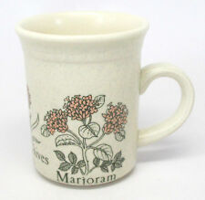 Biltons Stoneware Herb Mug - Mint, Chives & Marjoram - Made in England - A