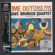 """DAVE BRUBECK """"TIME OUT"""" JAPAN SACD DSD RM STEREO **SEALED**"""