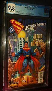 ACTION COMICS #811 2004 DC Comics CGC 9.8 NM/MT White Pages SUPERMAN