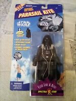 "Darth Vader Action Figure Star Wars Parasail Kite With 7"" Spectra Star 1997"