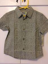 Boys Oshkosh 100% Cotton Dress Shirt Size 4T