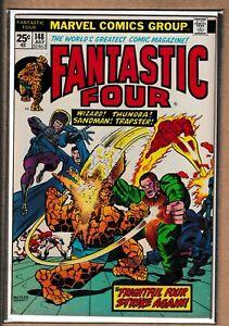 MARVEL _ THE FANTASTIC FOUR # 148 _ VFN+ _ 1974 _ CENTS COPY _