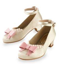 Chasing Fireflies Joyfolie Girls Ella Cream Shoes. Size 9. NWB