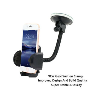 For All Apple iPhone's In Car Windscreen Photo Frame Mobile Phone Mount Holder