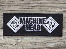 ECUSSON PATCH aufnaher toppa MACHINE HEAD métal musique music musica musiks rock