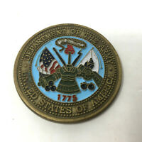 Department of the Army Challenge Coin Fort Sam Houston Medical Corps Texas