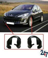 FRONT WHEEL ARCH COVER PLASTIC PAIR SET COMPATIBLE WITH PEUGEOT 308 2007-2011