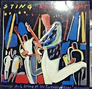 STING Bring On The Night LIVE Double Album Released 1986 Vinyl/Record UK press