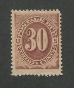 1884 United States Postage Due Stamp #J20 Mint Never Hinged F/VF Original Gum