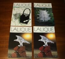 Lalique 1996 Lot Univers Collection Decoration Handbags Belts Art Glass Jewelry