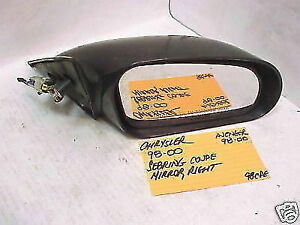 CHRYSLER SEBRING COUPE 98-00 DODGE AVENGER 98-00 POWER MIRROR PASSENGER RH RIGHT