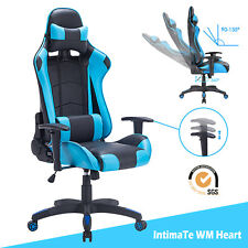 Computer Racing Gaming Office Chair Executive Recliner Adjustable Swivel Leather