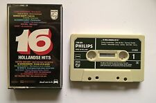Cassette Various - 16 Hollandse Hits Philips Xandra Conny Vandenbos Ramses Nm