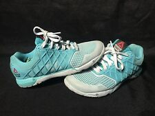 Reebok Cross Fit S55 Women's Athletic Shoe Aqua Sneaker Size 7 1/2