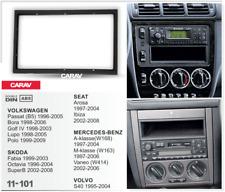 10111 2-DIN Radioblende für MERCEDES A-Klasse(W168) 1997-2004; M-Klasse (W163) 1