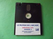 Amstrad CPC 6128 ** LE MONDE DE L'ARCADE    *** DISQUE 2 **