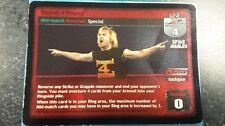 WWE Raw Deal: Ultra Rare Mid-Match,#42/150 V 8.0 Pound 4 Pound