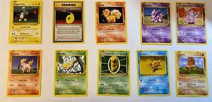 Pokemon Karten Set: 90er Alte Artworks 3  Boosterfrisch