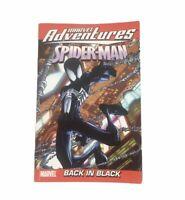 Spiderman Marvel Adventures Back in Black Paperback Book Dan Buckley EUC