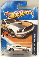 2011 Hot Wheels Nightburnerz '07 Ford Shelby GT-500 White #1/10