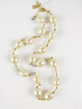 """Lauren Ralph Lauren Pearls Rock 18"""" Organic Pearl Collar Necklace $74"""
