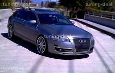 Tuning-deal Fronansatz passend für Audi A6 C6 Frontspoilerlippe Tuning Spoiler