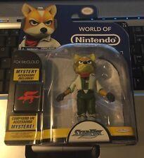 Fox McCloud Star Fox 4 inch World of Nintendo Jakks Pacific Figure