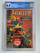 Avengers #35 CGC 6.0 1966 Living Laser appearance, Black Widow and Bill Foster