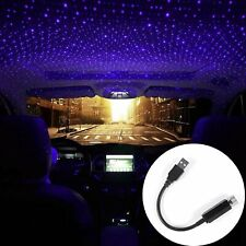 USB Car Interior Atmosphere Starry Sky Lamp Ambient Star Light LED Projector US