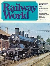 Railway World Feb 1973 Preservation, SDJR, Carmarthen & Cardigan - Photos