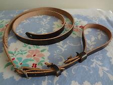 Vintage F Style Leather Mandolin Strap