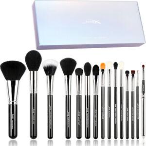 Jessup Makeup Brushes Set 15Pcs Face Powder Foundation Eyeshadow Make Up Brush
