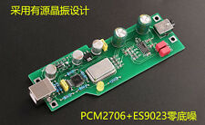 HIFI DIY KIT PCM2706+ES9023 Audio DAC card suitable A2 headphone  Expansion Card