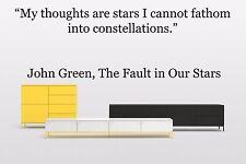 Vinyl Wall Decal Sticker Room Decor Saings Quotes Motivation John Green F2030