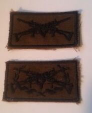 South West Africa Territorial Force SWATF Nutria Sharpshooter + Marksman Badges