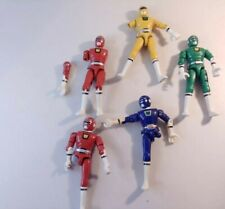 "Lot of Turbo POWER RANGERS  KNOCK-OFF Parts  4.5"" figure Bootleg see description"