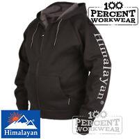 Full Zip Heavyweight Warm Snug Hooded Top Hoody Sweatshirt Hoodie Work Tradesman
