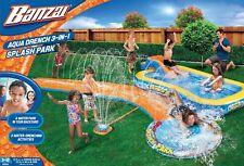 Banzai Inflatable Aqua Drench 3-in-1 Splash Park (05503)
