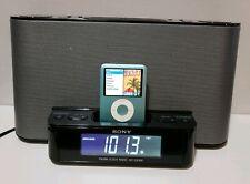 SONY  ICF-CS10iP- AM/FM Clock Radio with ipod/iphone Speaker Dock.